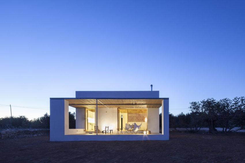 Casa moderna in Spagna ecologica